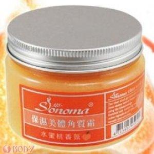 保濕美體角質霜-水蜜桃